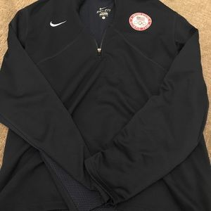 NIKE dri fit 1/4 zip up